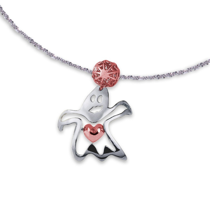 Colgante TRUE LOVE Heart plata