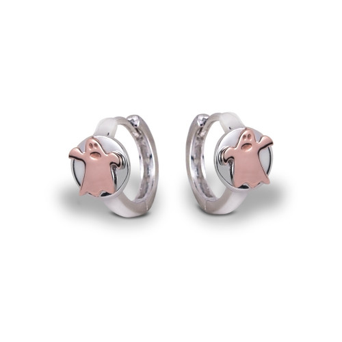 Pendientes CLARITY GHOST Ring