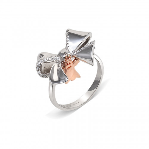 Anillo CLARITY GHOST Ribbon