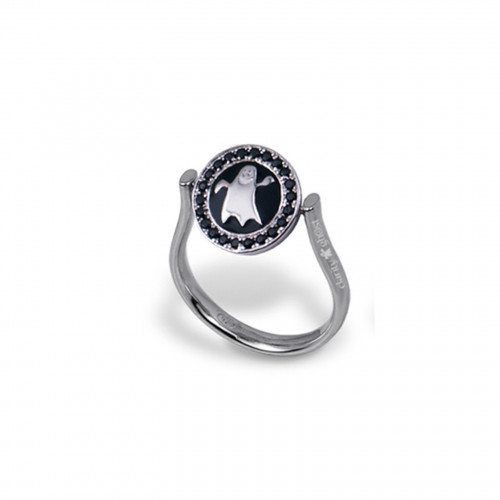 Anillo CLARITY GHOST Circle plata