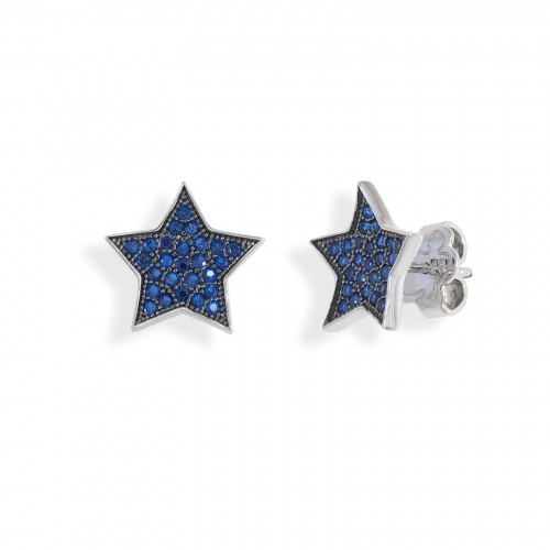 Pendientes The Blue Stars