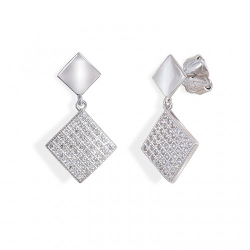 Pendientes Two Diamons