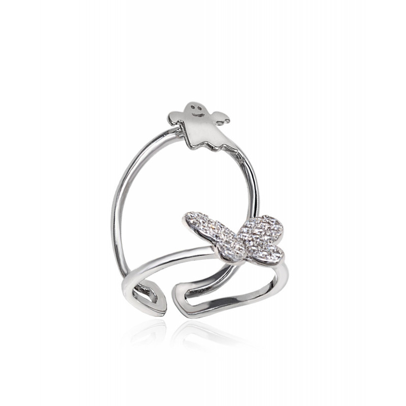 Anillo CLARITY GHOST Butterfly