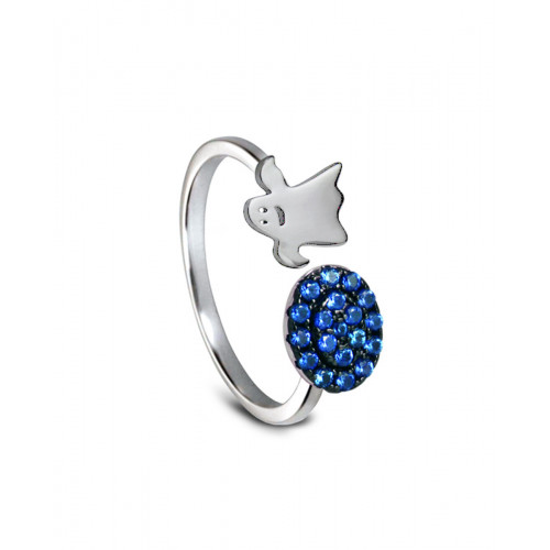 Anillo CLARITY GHOST Blue Lights