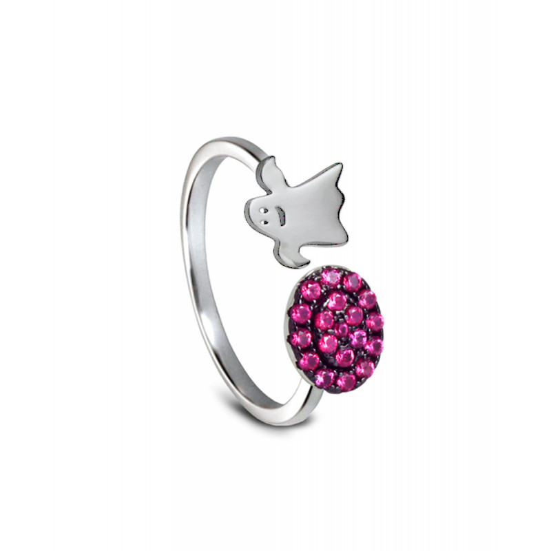 Anillo CLARITY GHOST Pink Lights