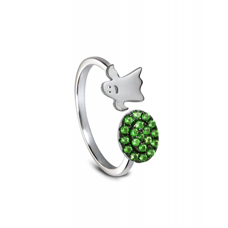 Anillo CLARITY GHOST Green Lights