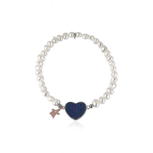 Pulsera Blue Heart