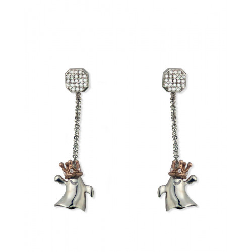 Pendientes Night And Day Square