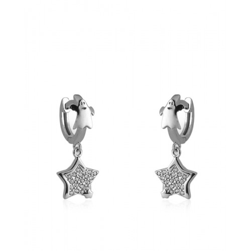 Pendientes Aro CLARITY GHOST Star