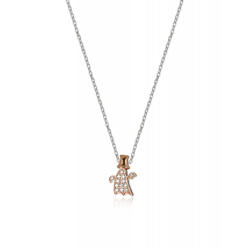 Colgante CLARITY GHOST Mini You Shine oro rosa