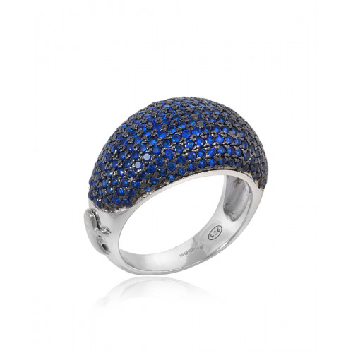 Anillo CLARITY GHOST Ocean Blue