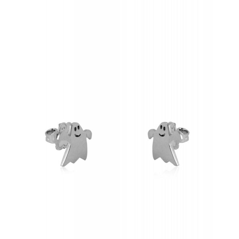 Pendientes CLARITY GHOST Mini plata