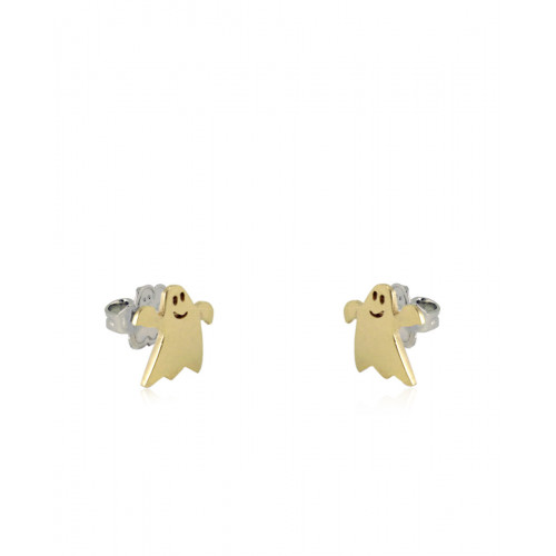 Pendientes CLARITY GHOST Mini oro