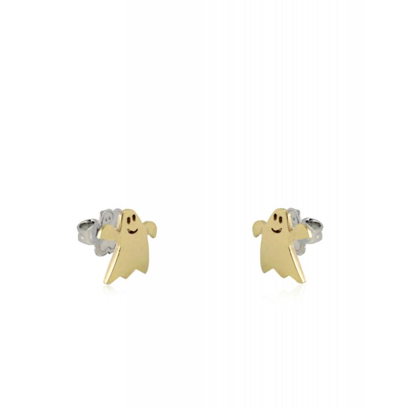 Pendientes CLARITY GHOST Mini oro