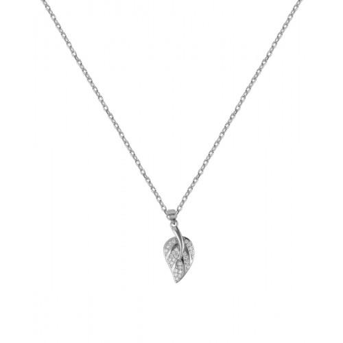 Colgante Clarity Ghost de plata de primera ley y circonitas