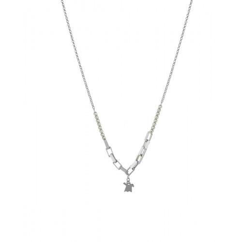 Collar Clarity Ghost Bellissimo de plata de primera ley y circonitas